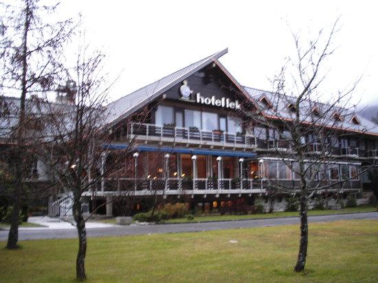 BEST WESTERN HOTEL KRANJSKA GORA: Hotel  LEK ' prima della neve'