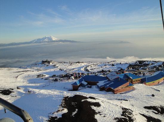Lago Llanquihue : Descendo de telesilla o Vulcão Osorno