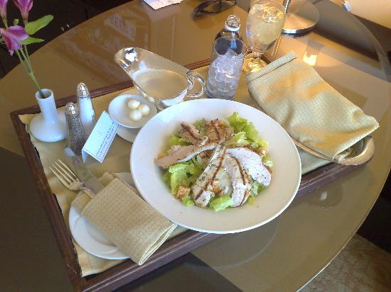 The Beverly Hilton: Now that's a Caesar salad