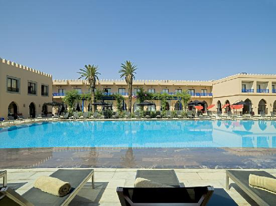 Adam Park Marrakech Hotel  & Spa: adam park vue piscine 3