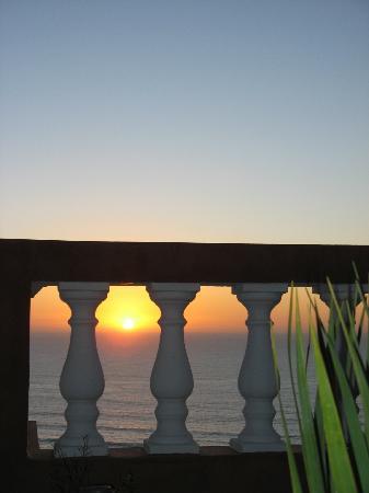 Villa Sunset : Sunset on the roof terrace