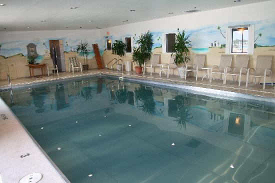 Avenue Inn & Spa: The only stainless steel pool in Delaware!