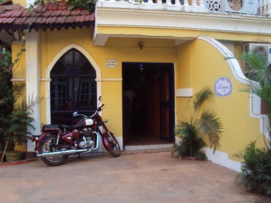 Castle House: reception area