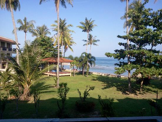 Aloha Lanta Resort: Vue du balcon, 1er étage