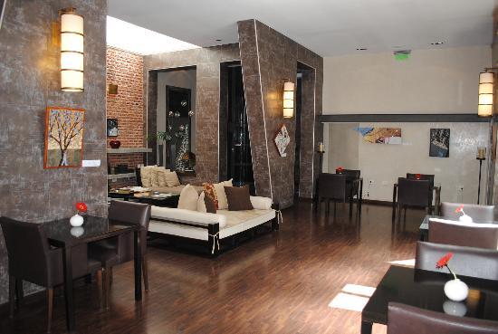 Foto de azur real hotel boutique c rdoba hotel lobby for Diseno de lobby de hoteles