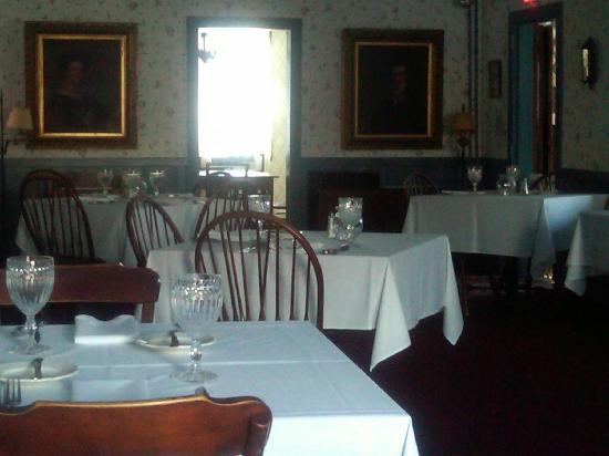 The Main Dining Room of the Hancock Inn