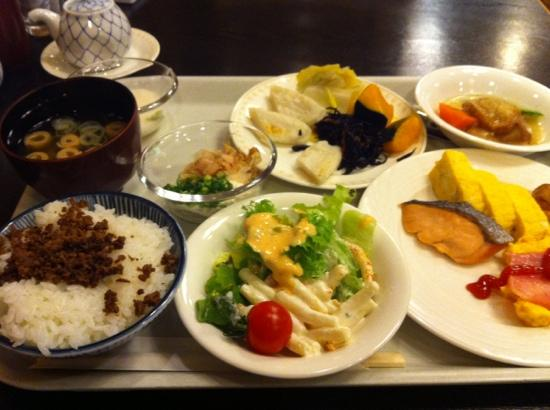 Hotel Hokke Club Sendai : 朝ごはん