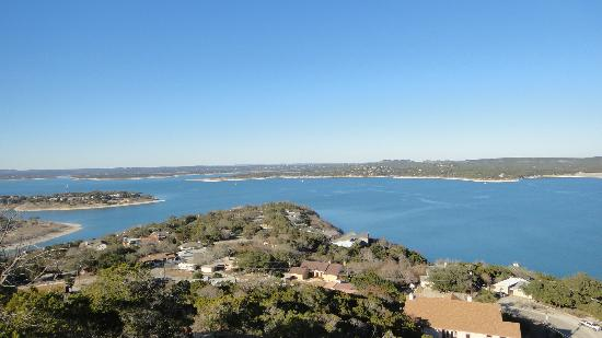 Holiday Lodge on Canyon Lake: View from a near by hike!