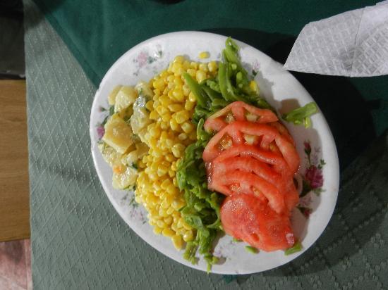 Las viejas cochinas: Big salad