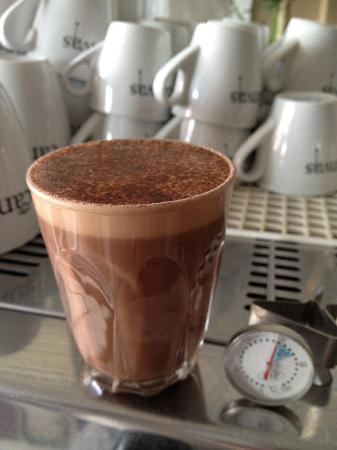 The Strip - Woodfired Pizza and Pasta Bar: Hot Chocolate