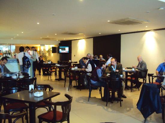 Gran Hotel Guarani: 26-Corrientes-Hotel Guaraní: Cafetería