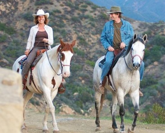 Ojai on Horseback : Romantic Trail Rides