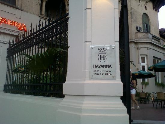 Havanna Cafe Corrientes: 1-Corrientes-Havanna Café: Entrada