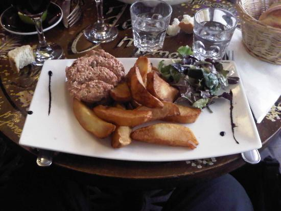 Jolis Mômes : Tartare frites maison pour le plat