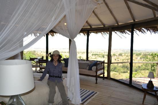 Lamai Serengeti, Nomad Tanzania: Spacious rooms with great views
