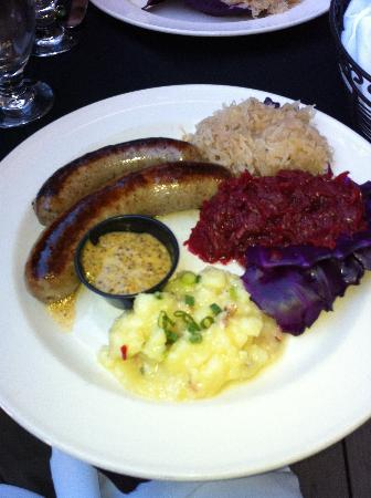 """Mozart's Steakhouse: Our Favorite @ Cafe Mozart: """"Schmankerl"""" Plate"""