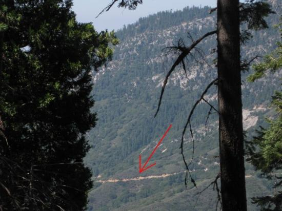 Mineral King Road: From across valley (1)
