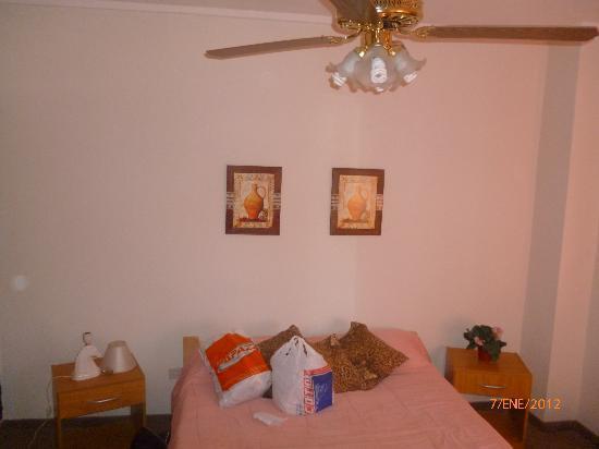 Hotel El Quijote : habitacion matrimonial
