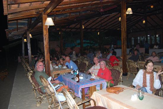 Dunhill: Guest enjoying Dinner