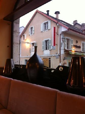 L'Hotel de France : vue