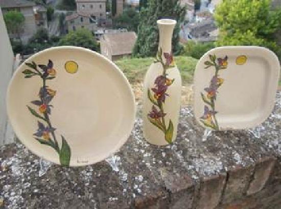 Antica Fornace Deruta: Paul Jansen  Artist
