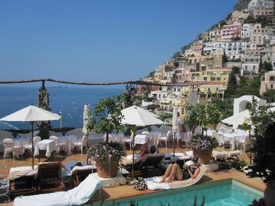 Le Sirenuse Hotel: Vue depuis notre chambre