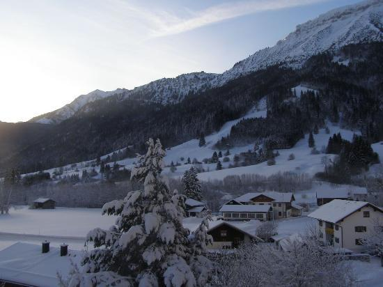 Hotel Bavaria : View from our room