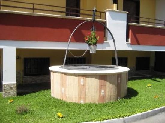 Hotel Ginevra: Il  giardino