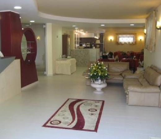 Hotel Ginevra: La hall.