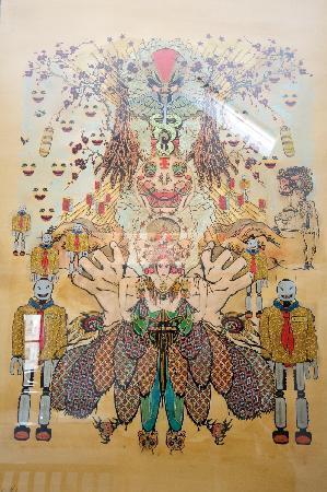 The Griffin Guest House: Original Artwork