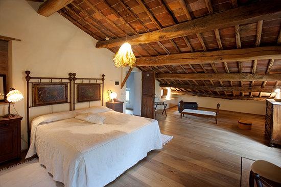 Villa Cicolina: Montepulciano room