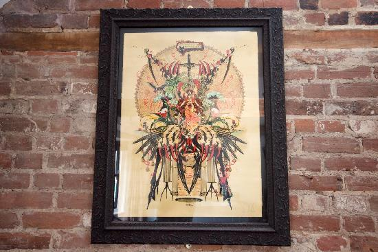 The Griffin Guest House: Art