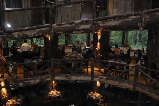 Huilo Huilo Montana Magica Lodge: restaurant
