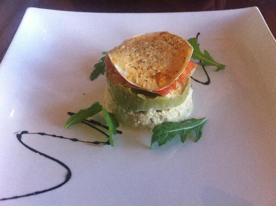 Tuscany Bistro Castletroy: Crab & Avocado Tower
