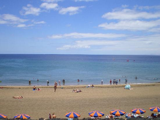 Princesa Ico Apartments: Playa Grande less than 5 minutes walk away
