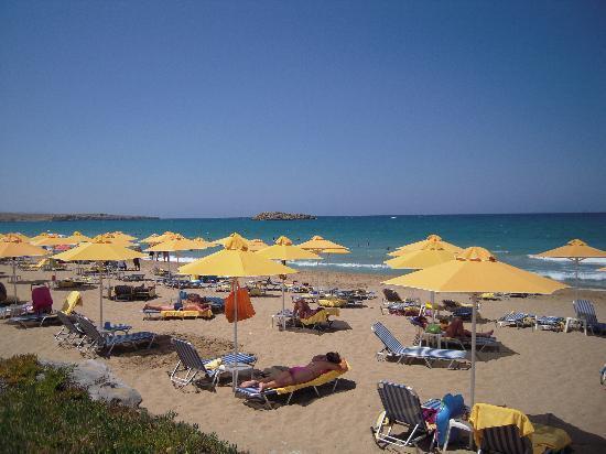 AKS Minoa Palace: la spiaggia