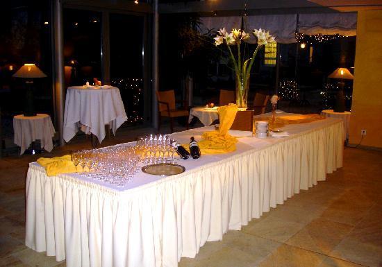 Restaurant Orangerie: Aperitif Buffet