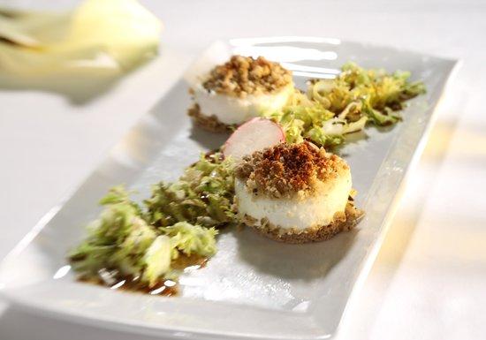 Restaurant Orangerie : Ziegenfrischkäse | goat cream cheese