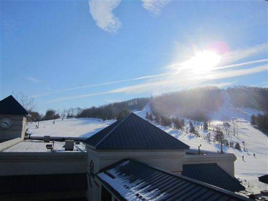 Liberty Mountain Resort: Day view out of the room