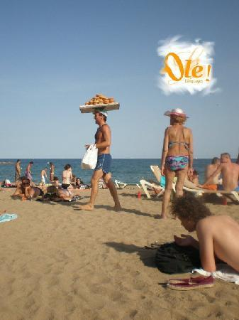 Ole  Languages: Barcelona beach