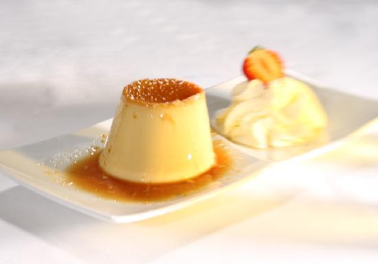Restaurant Orangerie: Caramelköpfli | caramel custard
