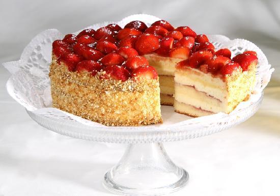 Restaurant Orangerie: Erdbeertorte | strawberry cake