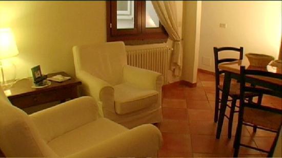 غرف وشقق بالازو أوليفيا: Living area