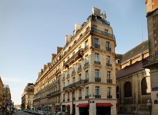 Hotel Lumen Paris Louvre: Facade