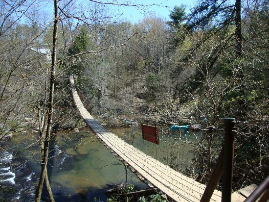 Pikeville, TN: Lots of Swing Bridges in the park