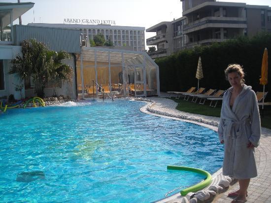 La piscina interna foto di panoramic hotel plaza abano - Piscine esterne ...