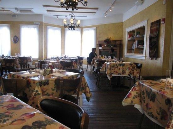 Babette's Cafe : sunday morning aglow