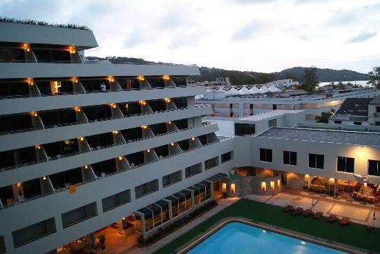 Patong Resort: View from the balcony