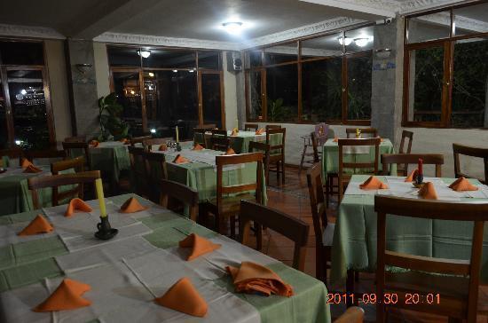 Volcano Hotel: Restaurante