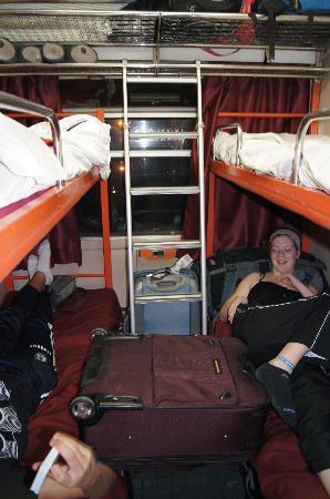 Marrakesh Express: Our sleeper cabin
